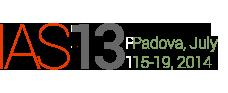 IAS Conference 2013 Padova
